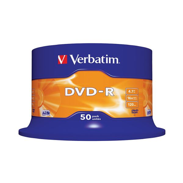 DVD-R 16X 4,7GB 50'Lİ CAKE BOX