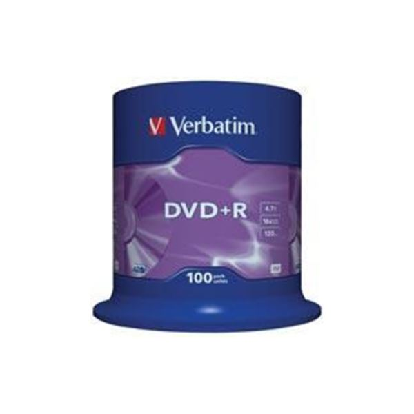 DVD+R 16X 4,7GB 100'LÜ CAKE BOX