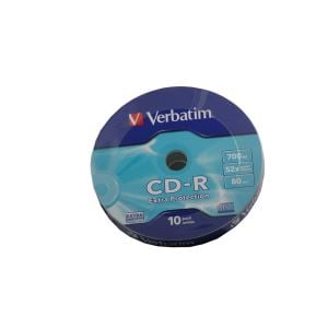 VERBATIM CD-R 52X 700MB 10'LU WRAP EXTRA PROTECTION ( 43725 )