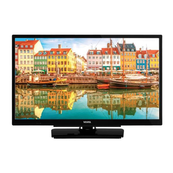 VESTEL 24HD5550 24'' 60 CM HD SLİM TV,HD DAHİLİ UYDU ALICILI