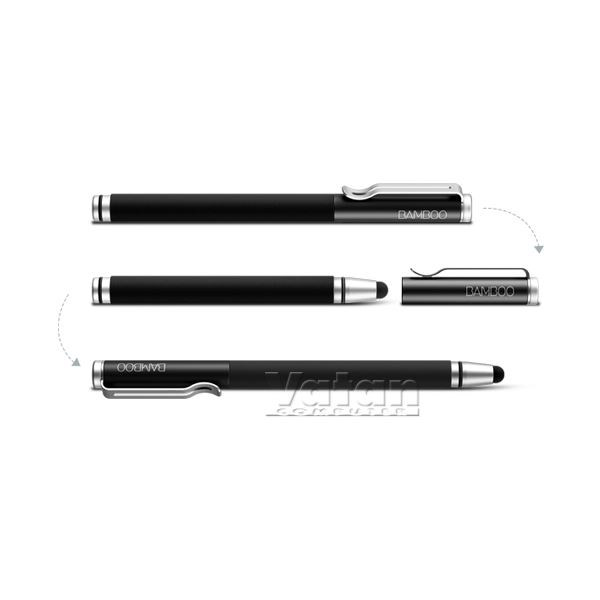 CS-120 Bamboo Stylus mini Black