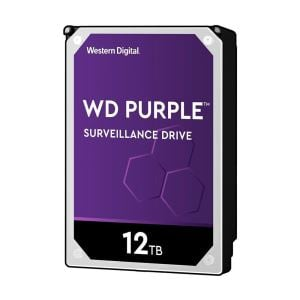 WD Purple 3.5'' 12TB 256MB SATA III 6Gb/s 7/24 Güvenlik