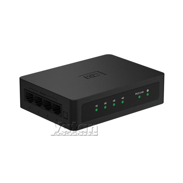 LIVEWIRE 200MBPS 4 PORT POWERLINE ADAPTÖR KİTİ