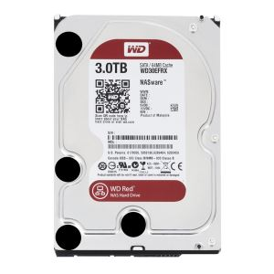 "WD Red 3,5"" 3TB 64MB SATA III 6Gb/s 7/24 NAS"