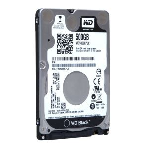 "WD 2.5"" 500GB Scorpio Black SATA 3.0 7200Rpm 32MB Notebook Disk"