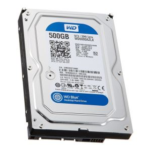 "WD Blue 3,5"" 500GB 32MB SATA III 6Gb/s 7200 RPM"