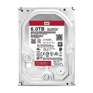 "WD 3.5"" 6TB Red Pro Sata 3.0 7200Rpm 256MB Cache NAS Harddisk"