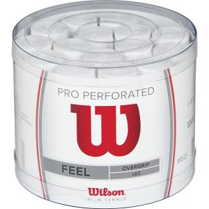 Wilson Overgrip Pro Perforated 60lı Bucket Grip (WRZ4008WH) FNS-AKSQQQWIL004