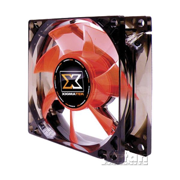 XIGMATEK XLF SERİSİ 80MM BEYAZ LED FAN