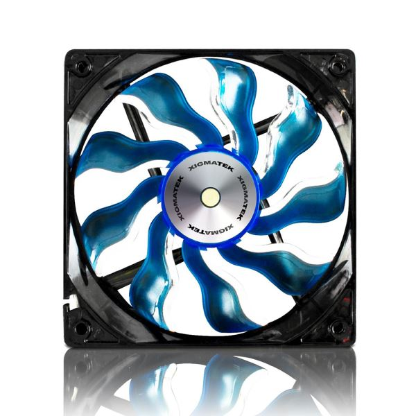 XIGMATEK XAF SERİSİ 120MM MAVİ LED FAN