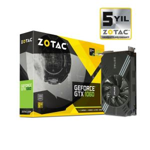 Zotac GTX1060 MINI EDITION GDDR5 6GB 192Bit Nvidia GeForce DX12 Ekran Kartı