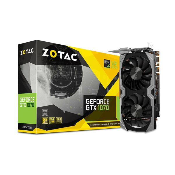 Zotac GTX1070 MINI EDITION GDDR5 8GB 256Bit Nvidia GeForce Ekran Kartı