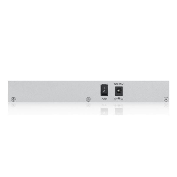 ZYXEL GS1200-5HP 60W GIGABIT 5 PORT WEB YÖNETİLEBİLİR POE SWITCH