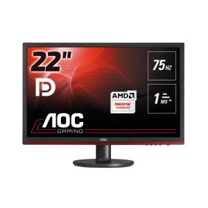 "AOC 21.5"" G2260VWQ6 1ms 75Hz FreeSync DP Port+HDMI+VGA Full HD Gaming monitör"