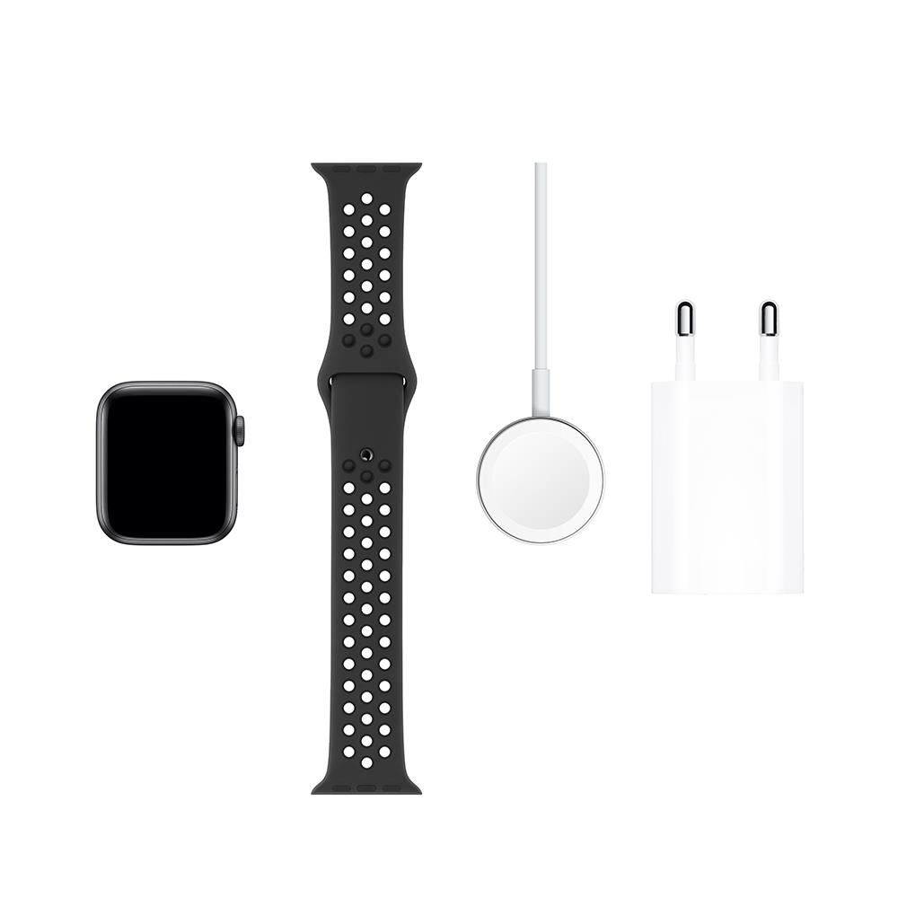 Apple Watch Nike Series 5 GPS, 40mm Space Grey Aluminium Case with Anthracite/Bl
