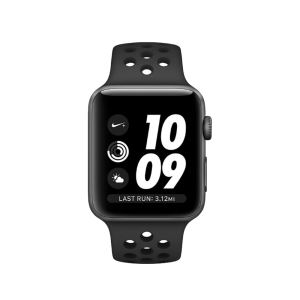 Apple Watch Series 3 Nike+ GPS, 38mm Space Grey Case with Anthracite/Black Nike