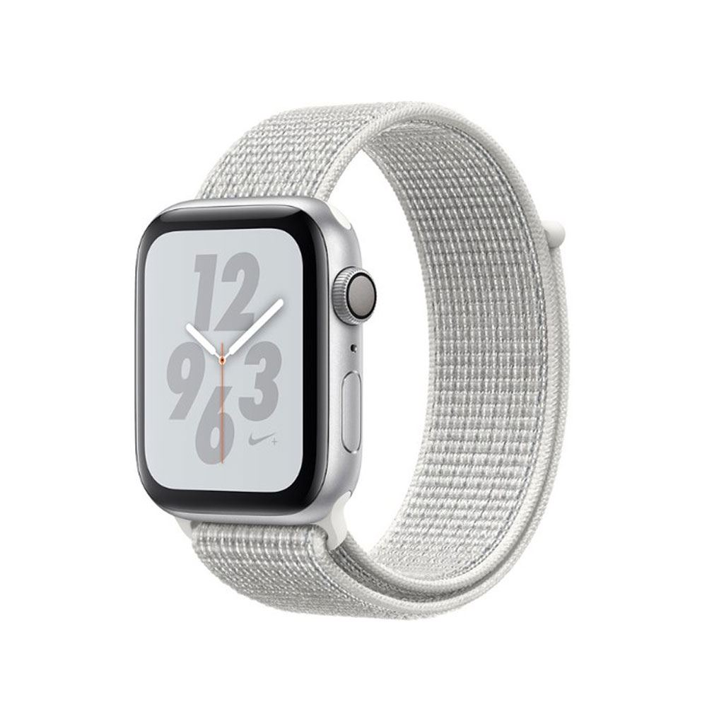 Apple Watch Nike+ Series 4 GPS, 40mm Silver Aluminium Case with Summit White