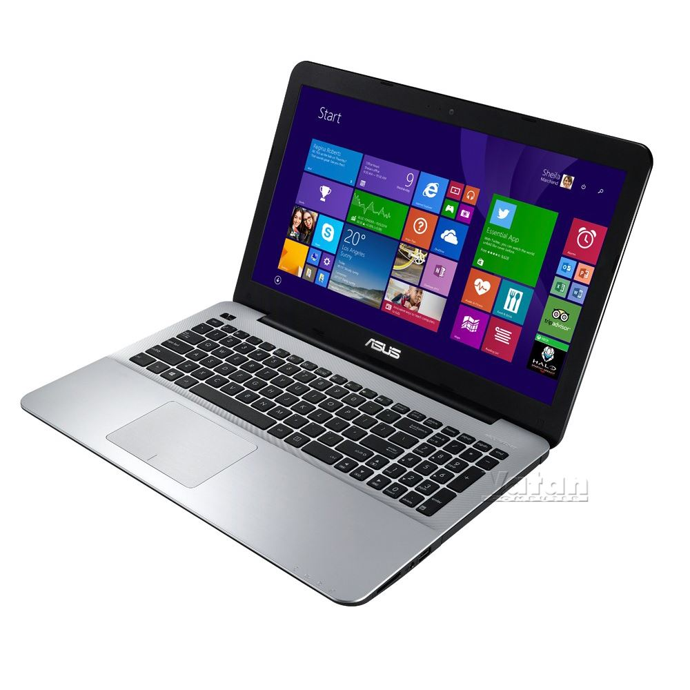 "ASUS X555LN CORE İ5 4210U 1.7GHZ-8GB RAM-1TB HDD-2GB-15.6""W8 NOTEBOOK"