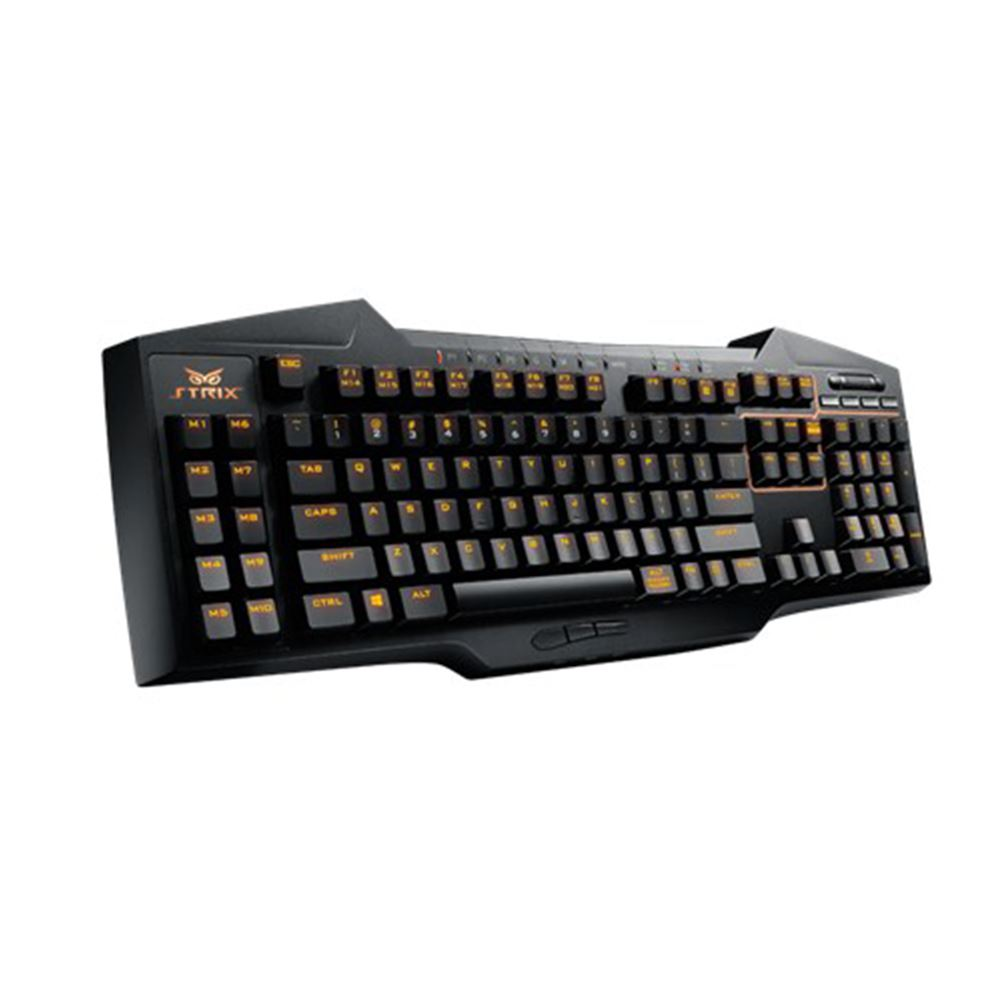 Asus Strix Tactic Pro Cherry MX Mekanik Gaming Klavye