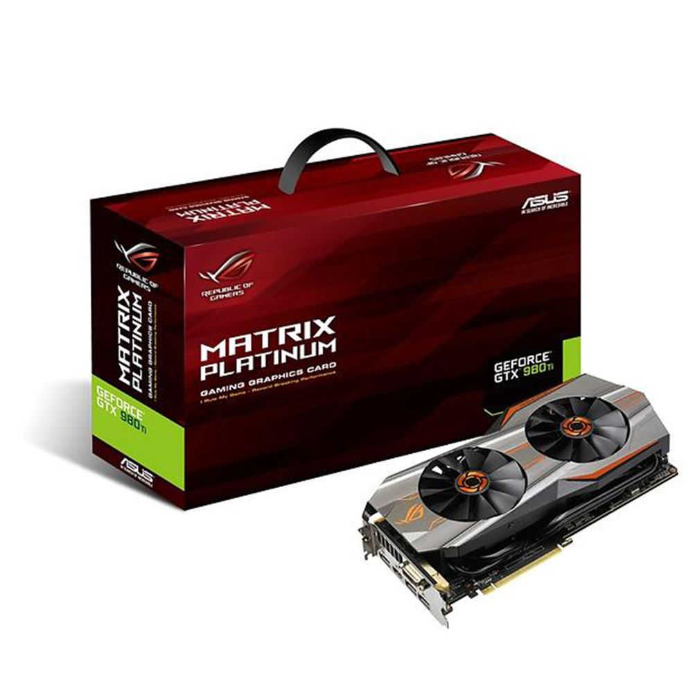 Asus GeForce GTX980 TI MATRIX GAMING GDDR5 6GB 384Bit DX12 NVIDIA Ekran Kartı