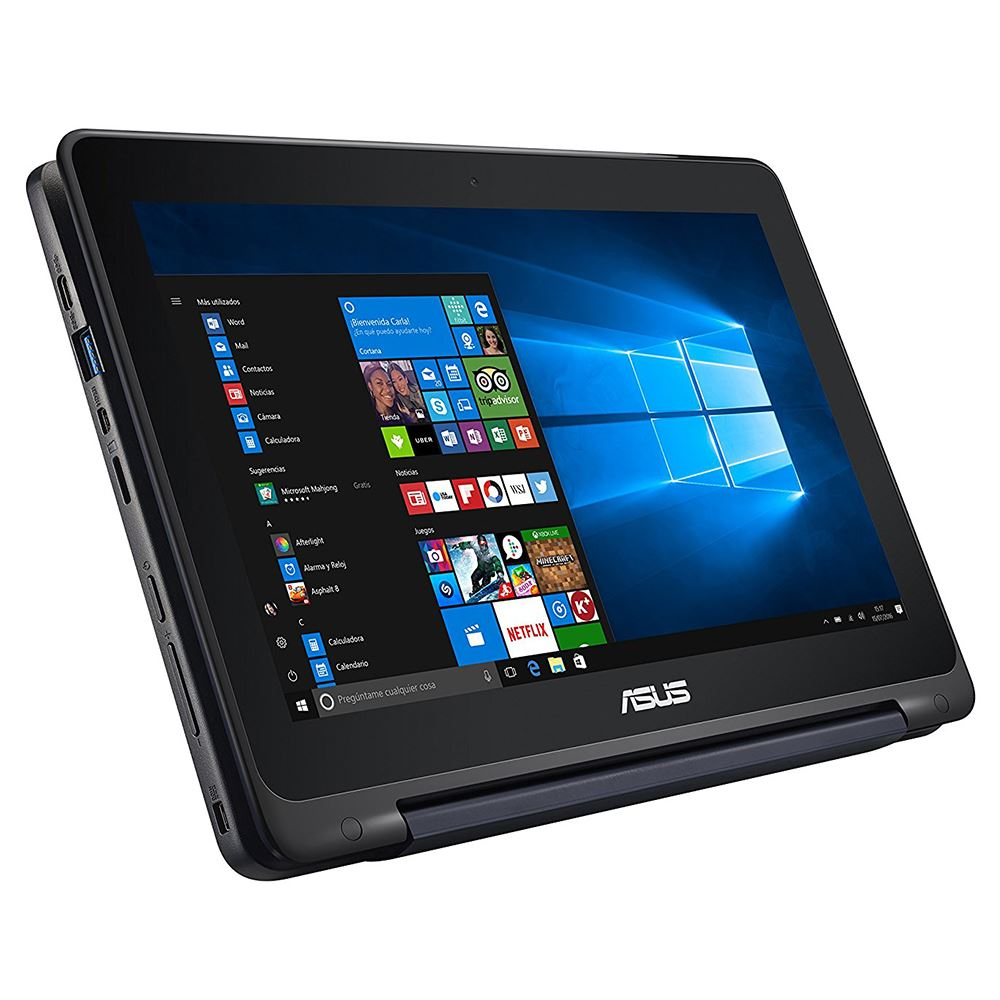 """ASUS TP200 CELERON N3060 1.6GHZ-2GB RAM-32GB HDD-INT-11.6"""" TOUCH-W10 NOTEBOOK"""