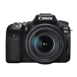 "CANON EOS 90D 18-135 IS STM 32.5 MP 3"" LCD EKRAN SLR FOTOĞRAF MAKİNESİ"