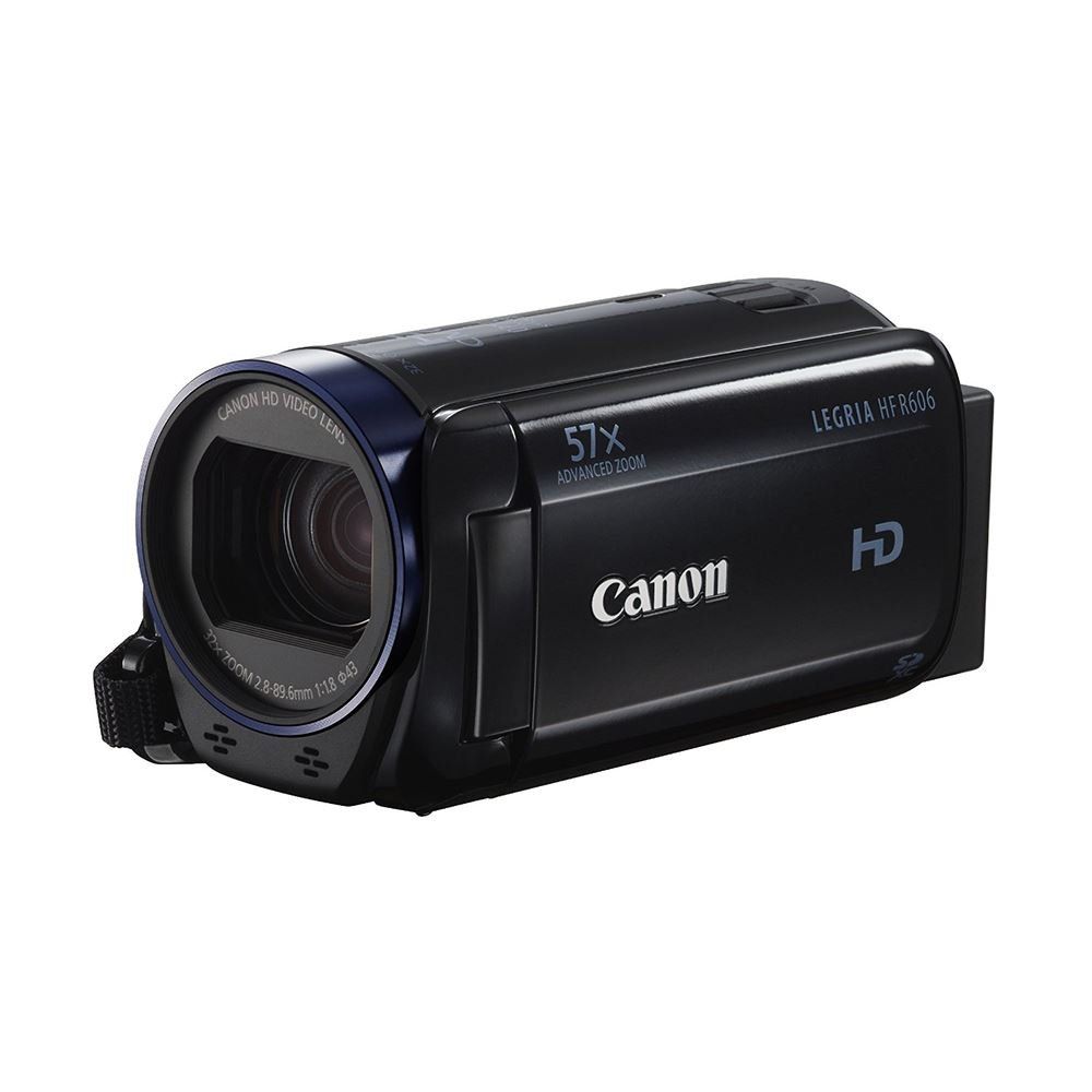 CANON LEGRIA HF-R606 SİYAH DİJİTAL VİDEO KAMERA (ESSENTIAL PACK)