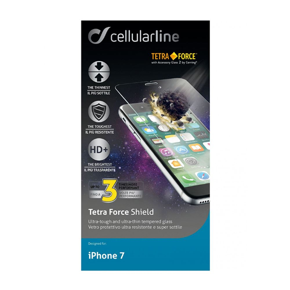 CELLULARLINE IPHONE 7 TETRA FORCE CAM EKRAN KORUYUCU