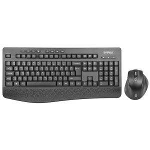 Everest KM-6017 Siyah Usb Kablosuz Q Multimedia Klavye + Mouse Set