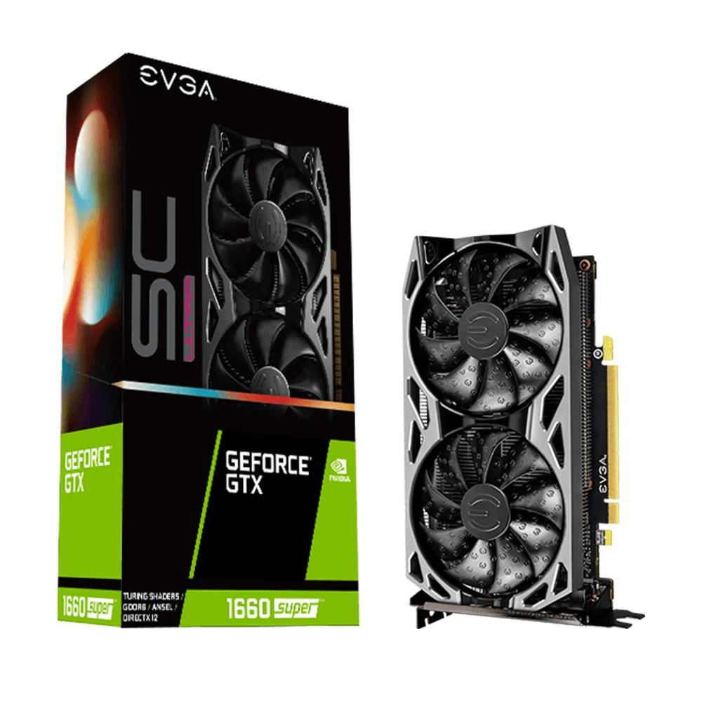 EVGA GeForce GTX1660 SUPER SC ULTRA GAMING 6GB GDDR6 192Bit Nvidia Ekran Kartı