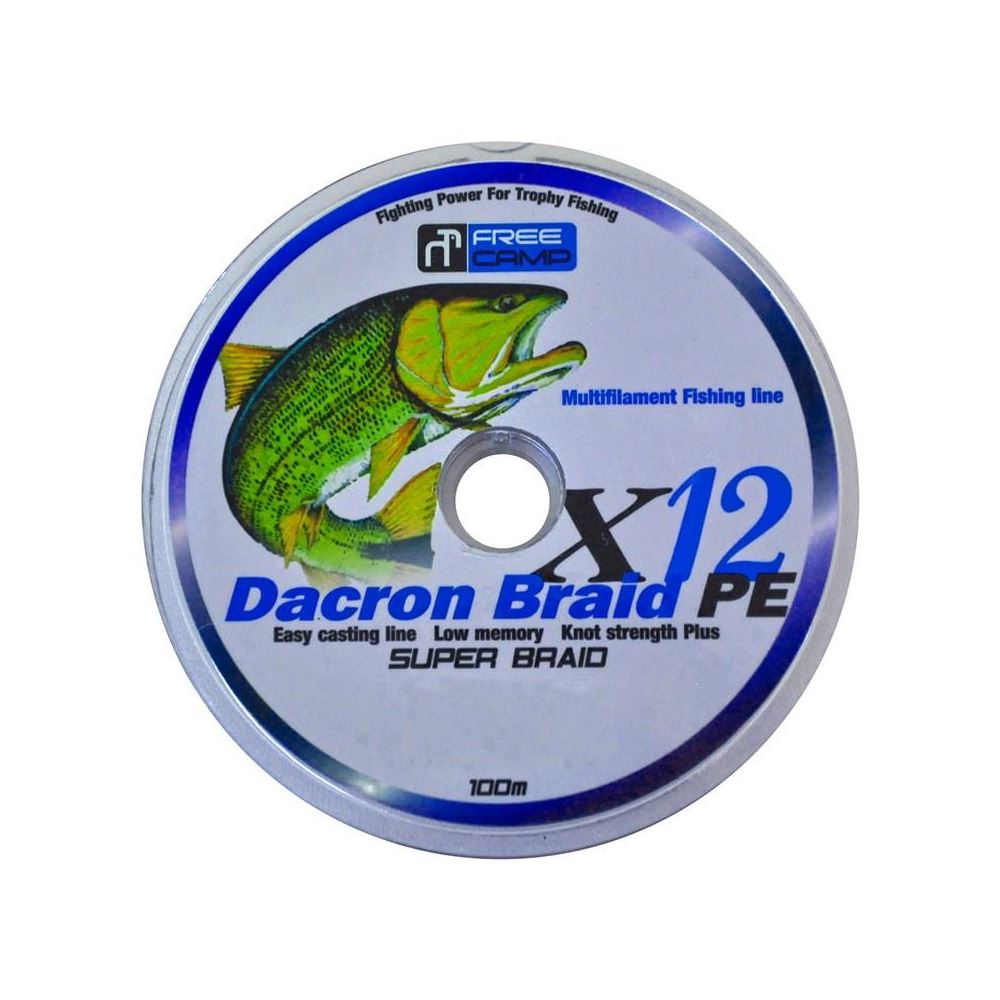 FreeCamp Dakron 12 Braid 100mt 0,60mm Olta Misinası 12PLYS