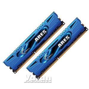 8GB (2x4GB) Ares Blue Low Profile DDR3 1600MHz CL9 Dual Kit Ram