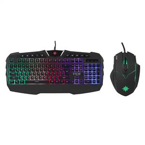 INCA IKG-310 Ruthless  Rainbow Efect Gaming Klavye Mouse Set
