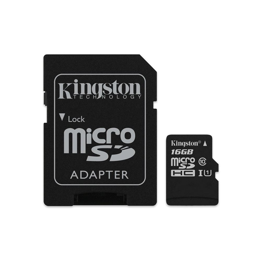 KINGSTON CANVAS SELECT 16 GB CLASS 10 ADAPTÖRLÜ HAFIZA KARTI (80MB/S-10MB/S)