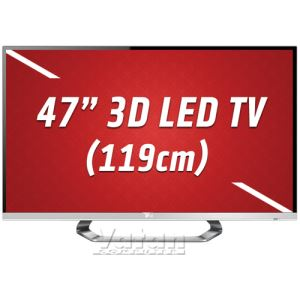 47LM670S 3D LED CINEMA  119 cm FULL HD, 400 HZ,DLNA,4xHDMI,USB,Dual Play,Gümüş