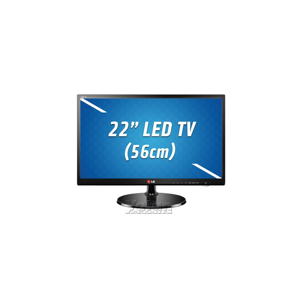 """LG 22MN43 22""""56 CM  FULL HD LED, HDMIx1, Component, Composite, USBx1, Scart"""