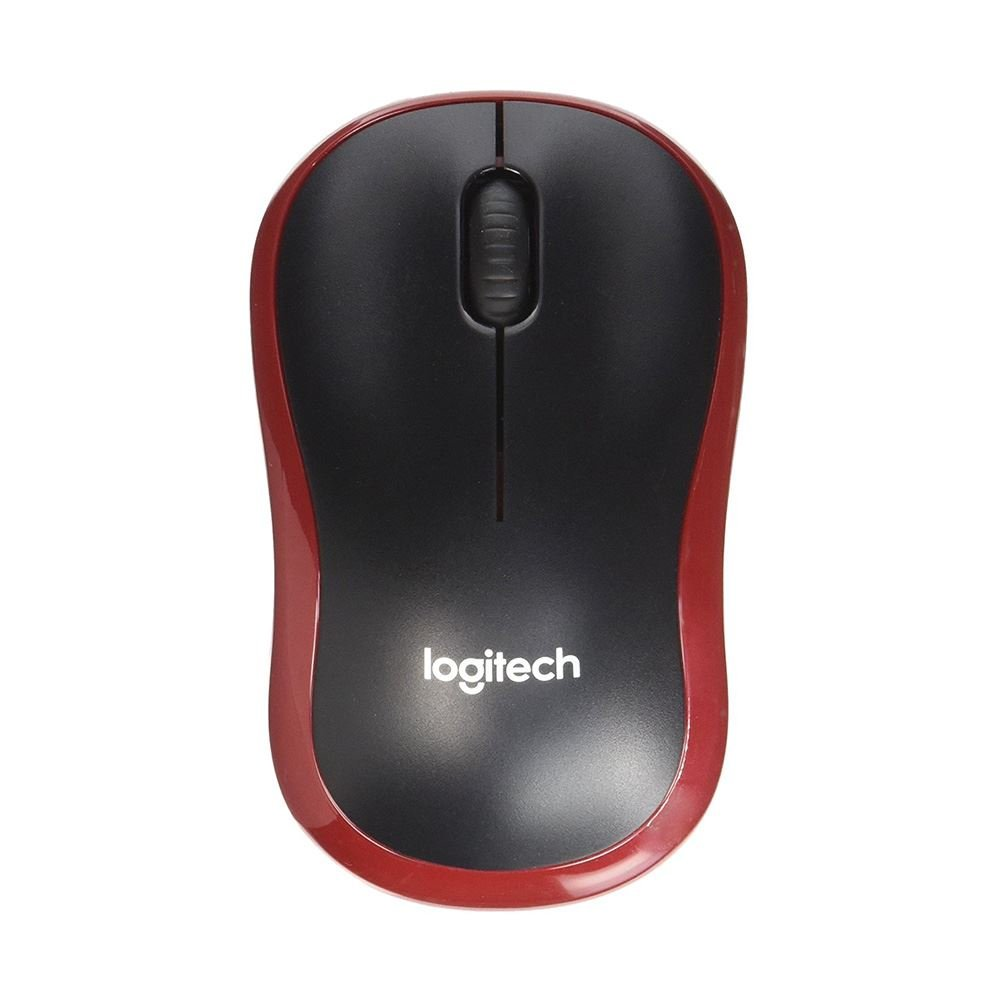 LOGITECH M185 MOUSE RED
