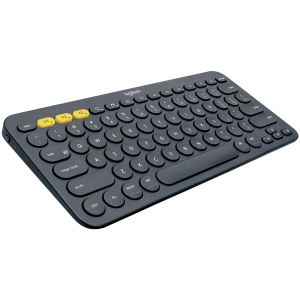 LOGITECH K380 BLUETOOTH BLACK TR MULTI KEYBOARD