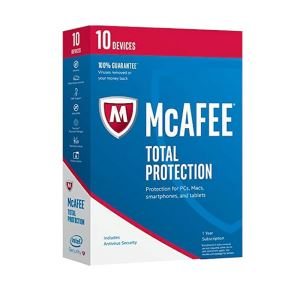 McAfee Total Protection 10 Cihaz