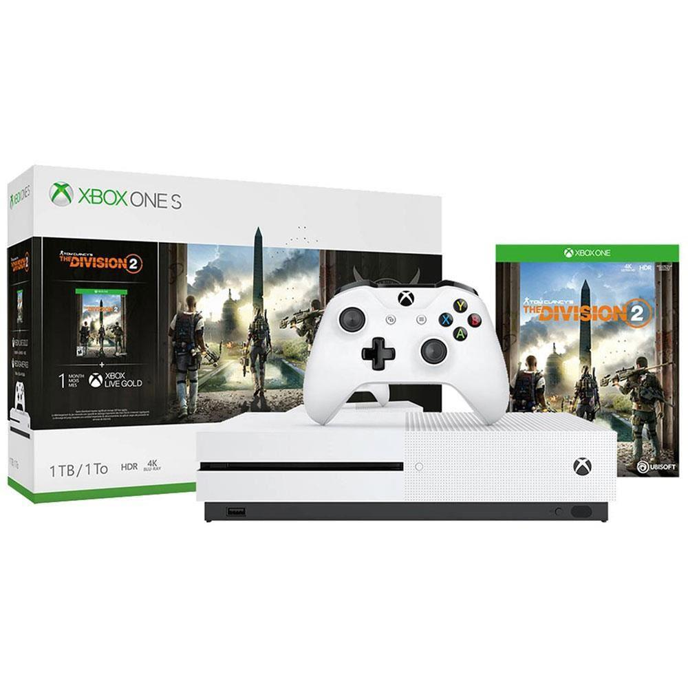 MICROSOFT XBOX ONE S 1 TB + TOM CLANCY'S THE DIVISION 2 OYUN KONSOLU