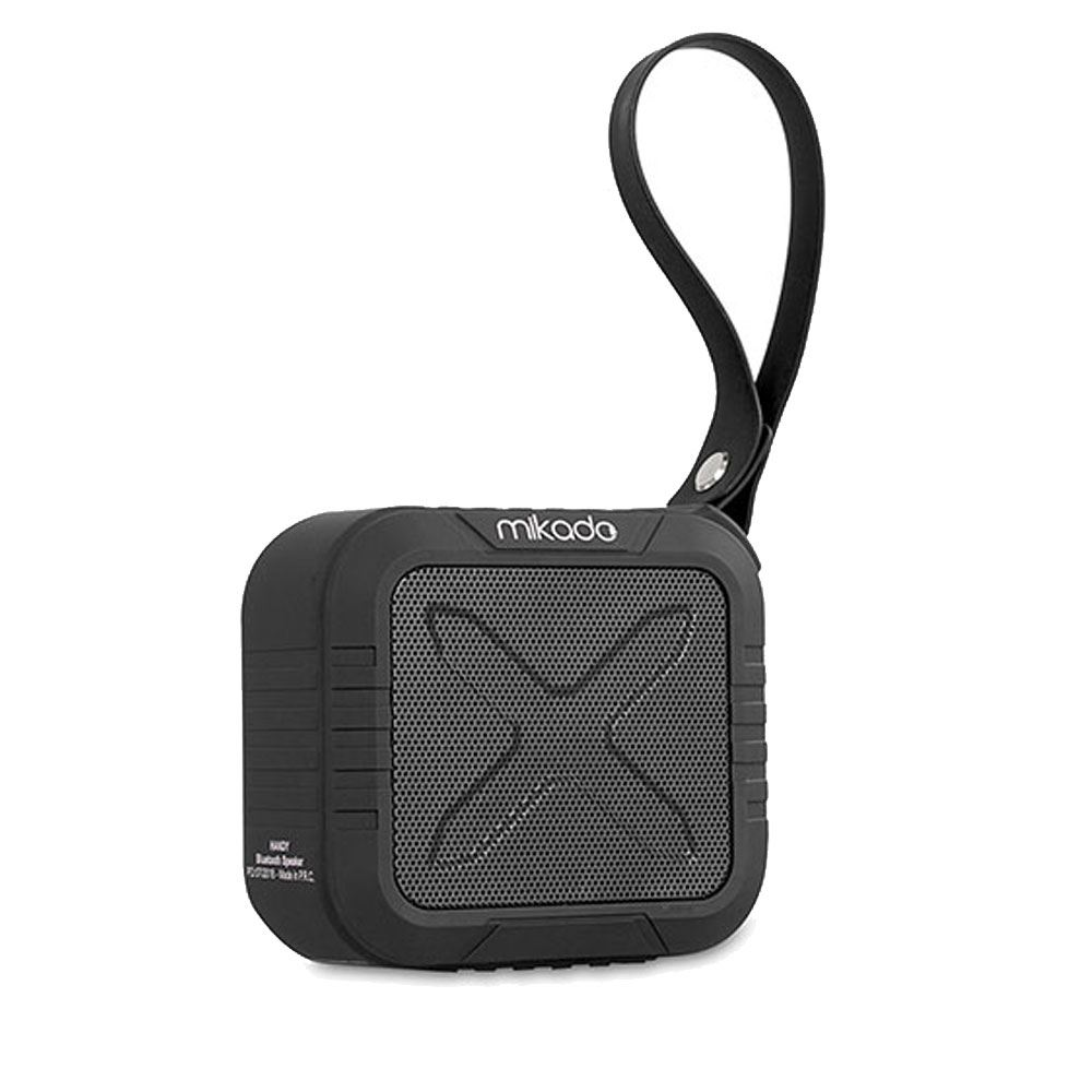 Mikado HANDY Siyah  Waterproof Bluetooth Speaker