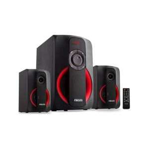 Mikado MD-1412BT 2+1 Siyah Usb+SD+Fm+Bluetooth Destekli Multimedia Speaker