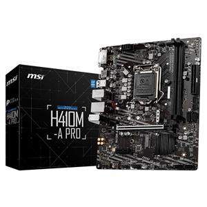 MSI H410M-A PRO Intel H410 Soket 1200 DDR4 2933MHz M.2 Anakart