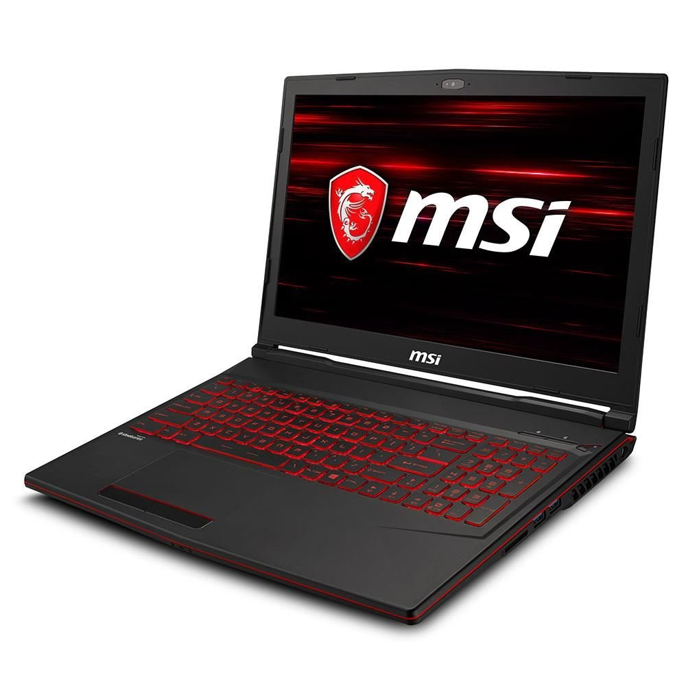 "MSI GL63 CORE İ7 9750H 2.6GHZ-16GB-256GB SSD+1TB HDD-15.6""-GTX1660TI 6GB-W10"
