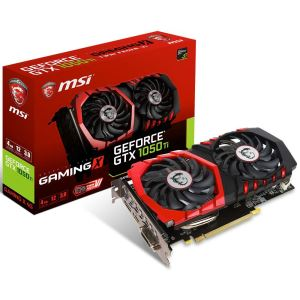 MSI GeForce GTX1050 Ti GAMING X 4GB OC GDDR5 128Bit NVidia DX12 Ekran Kartı