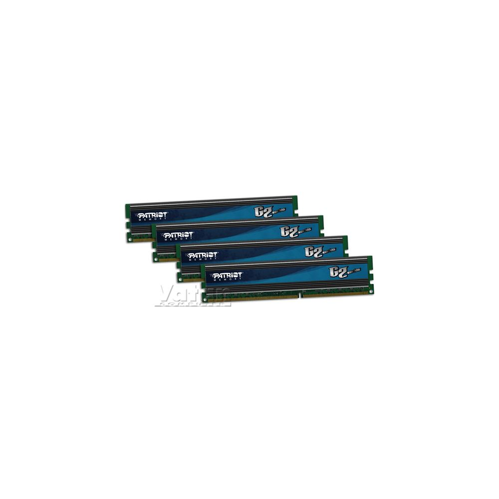 16GB(4x4) Gamer II DDR3 1600MHz CL9 XMP 1.3 Dörtlü Kit Ram