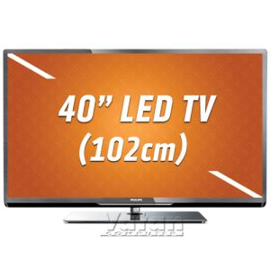 40PFL5007K PMR 400Hz FULL HD LED 102 cm, 1920X1080 ,4XHDMI, 3XUSB,HD UYDU ALICI