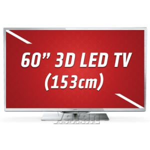 "PHILIPS 60PFL9607S 60"" 153 CM AMBİLİGHT, FULL HD LED TV,Perfect Pixel HD,1200 Hz"
