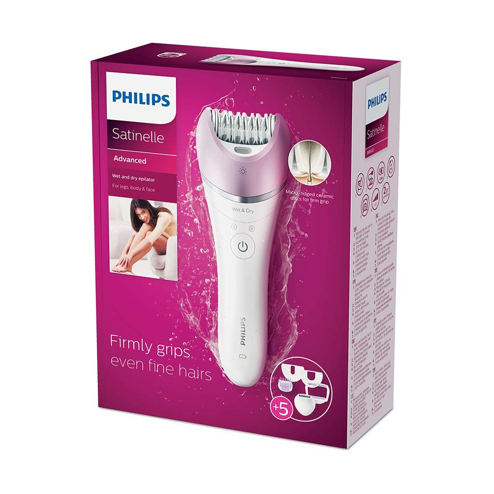 PHILIPS BRE632/00 SATINELLE ADVANCED ISLAK VE KURU EPİLATÖR