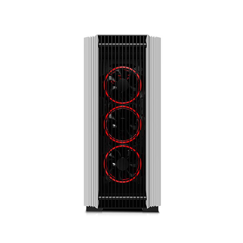 RAMPAGE THE KING 4x120mm RGB FAN USB 3.0 MidT ATX GAMING KASA